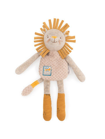 Moulin Roty Sous Mon Baobab Lion Rattle Comforter (669023)