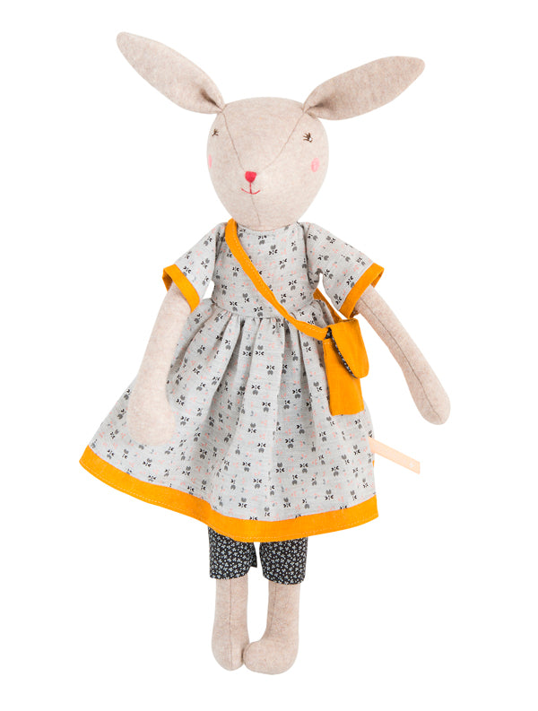 Moulin Roty La Famille Mirabelle Rose Mummy Rabbit