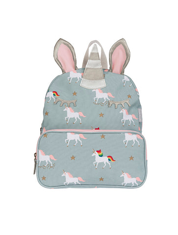 Sophie Allport Unicorn Childrens Oilcloth Backpack (PVC55520)
