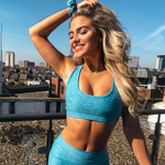 FlexLite Sports Bra - Teal