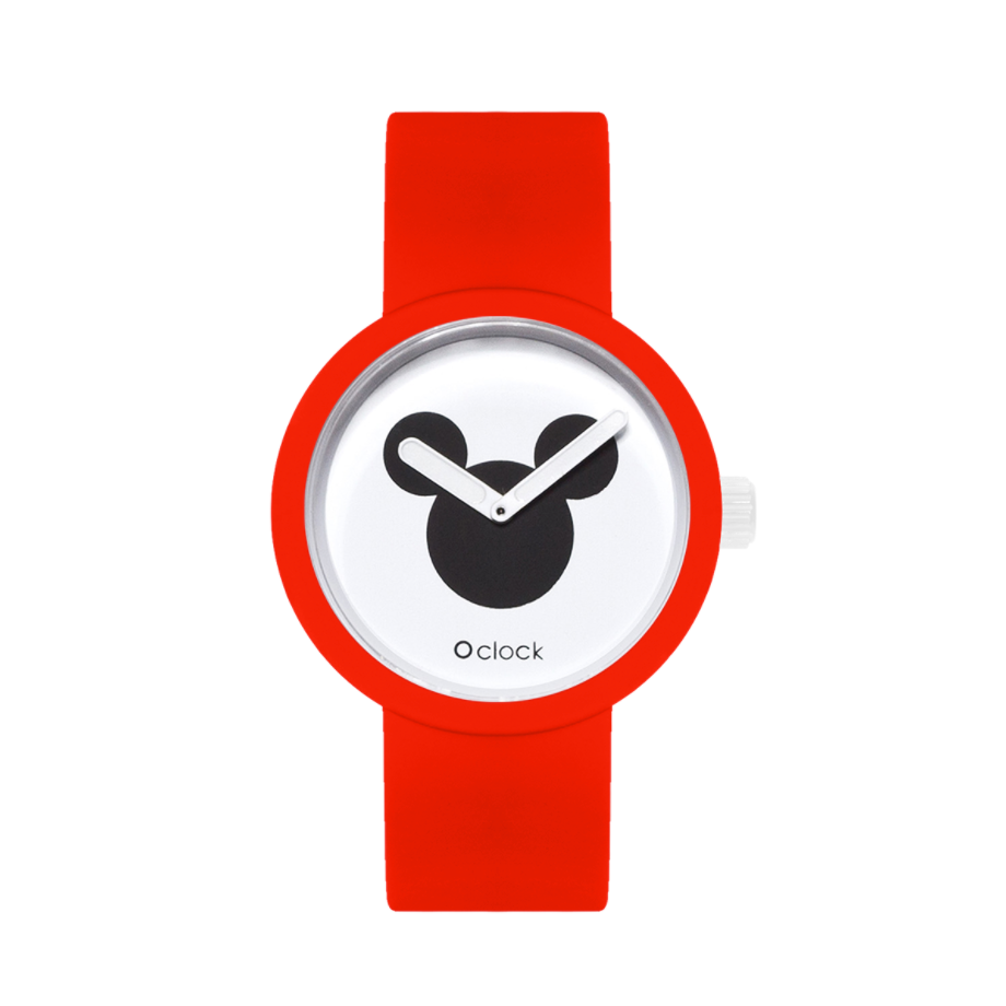 O clock Disney Icon / Rojo