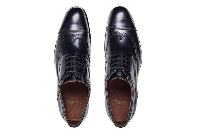Oxford Brogue Marinho