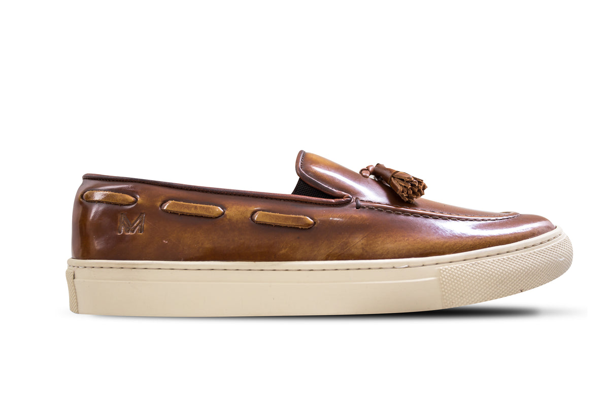 Slip On Verniz Honey