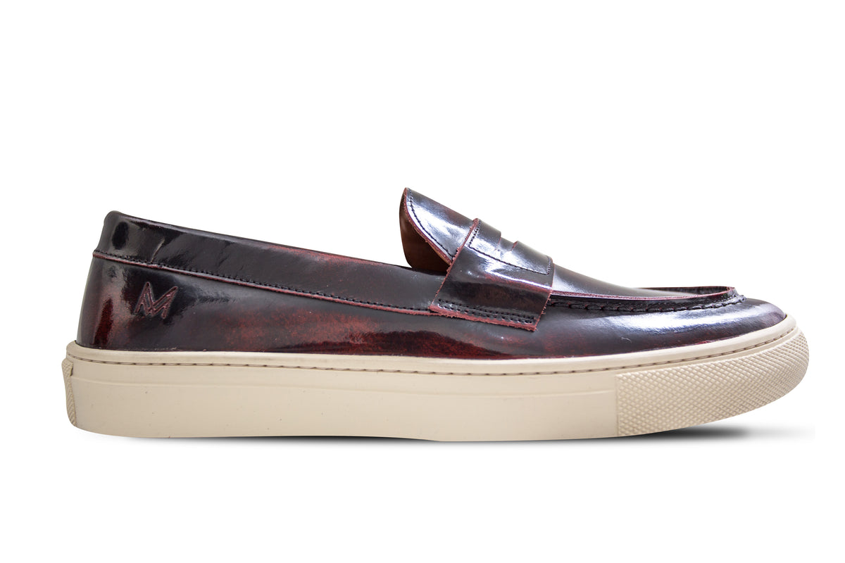 Loafer Verniz Burgundy