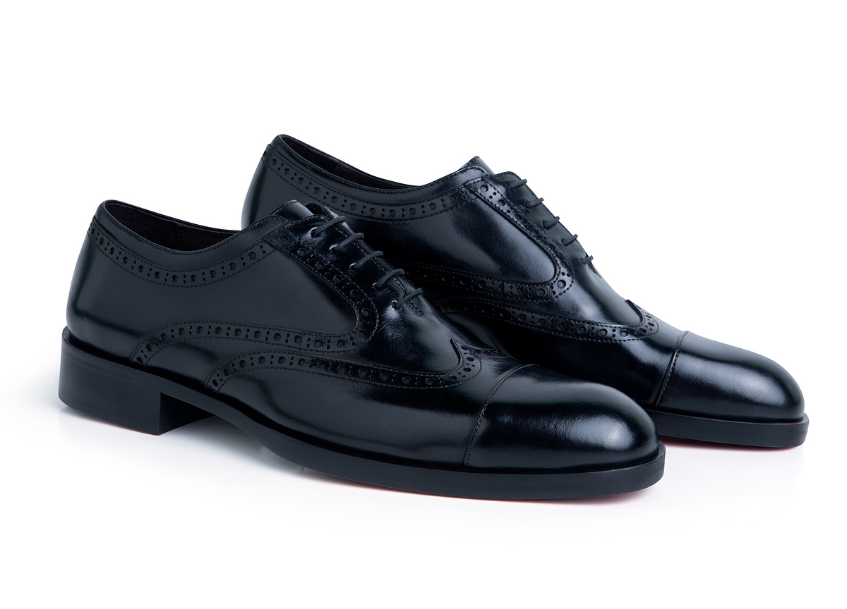 Oxford Brogue Preto