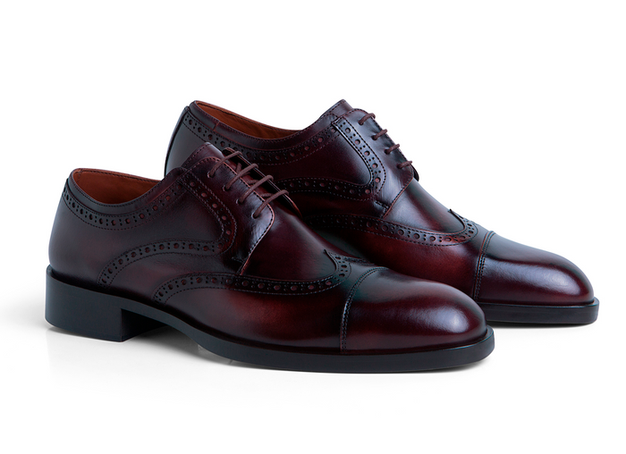 Oxford Brogue Burgundy
