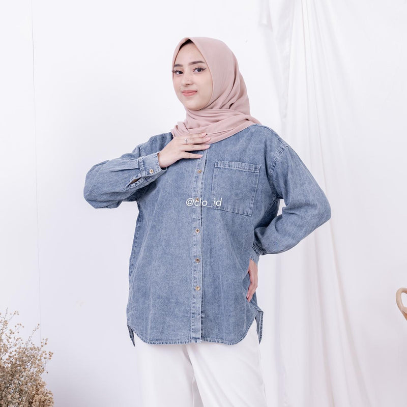 Loosy Denim Shirt
