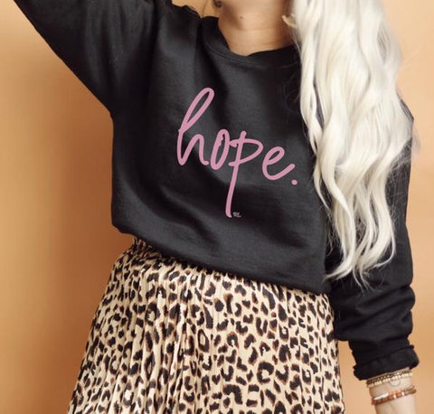 Pink Hope LS Sweatshirt