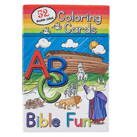 COLORING CARDS ABC