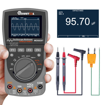 Engineering Pro™ Best Intelligent Digital Oscilloscope Multimeter (New 2020 version)