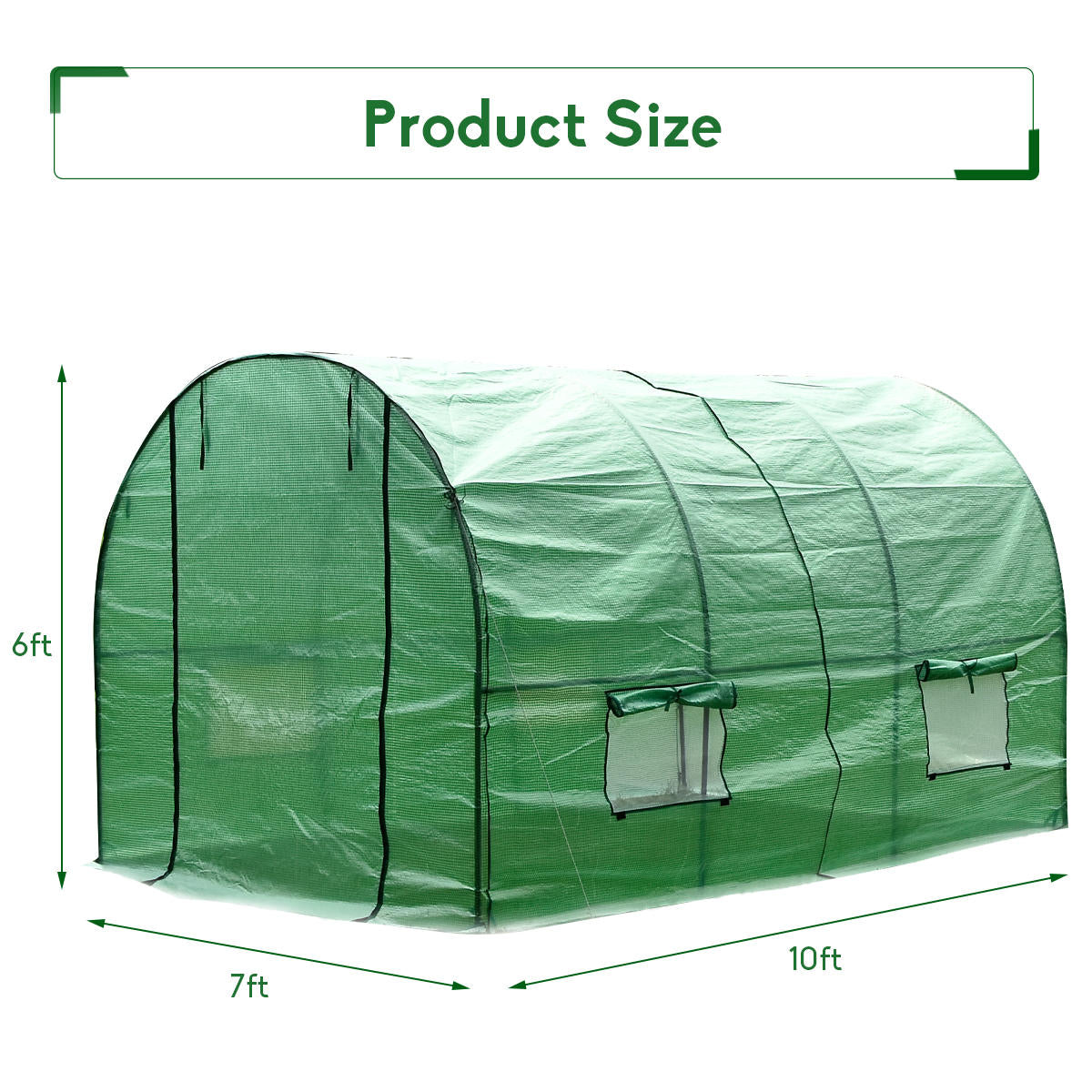 Skyorium™  Premium Large Walk-in Plant Greenhouse