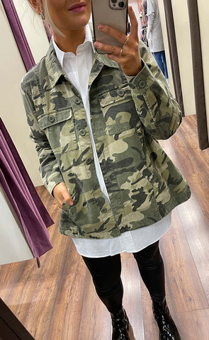 Army jakki - PLUS SIZE