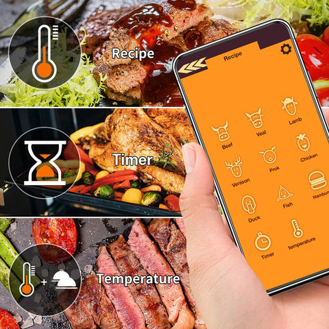 Wireless thermometer 3 modes