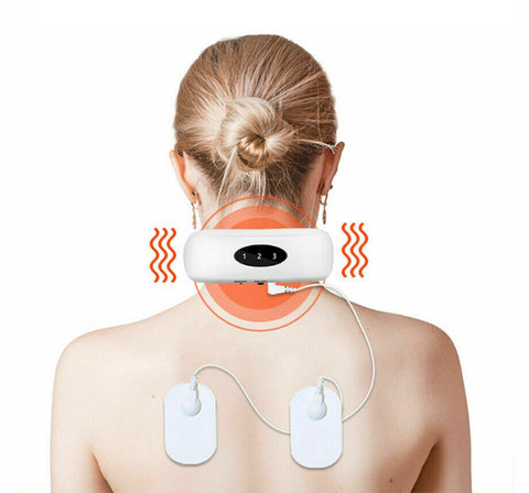 Neck massager with 5 modes