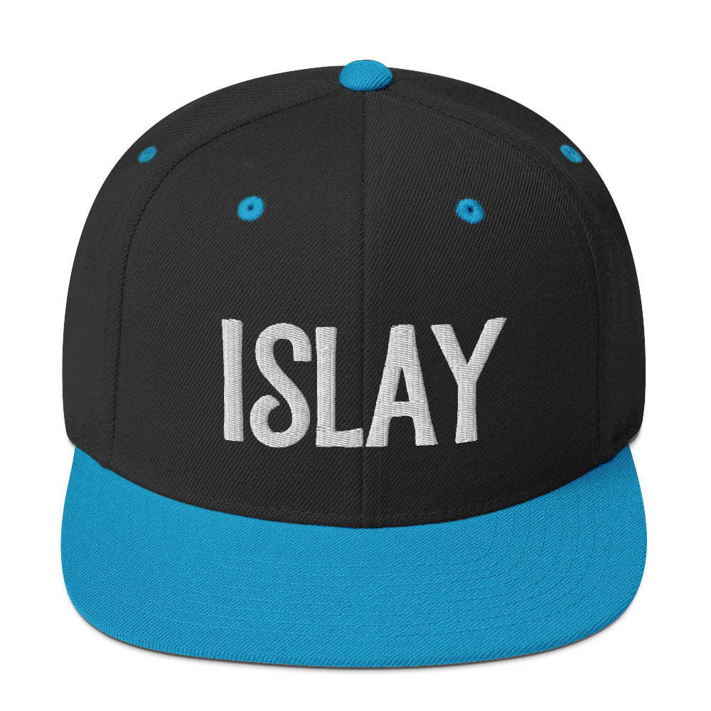 Islay 3D Puff Snapback Hat