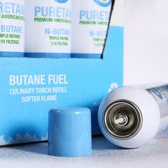 detail shot purest n-butane can
