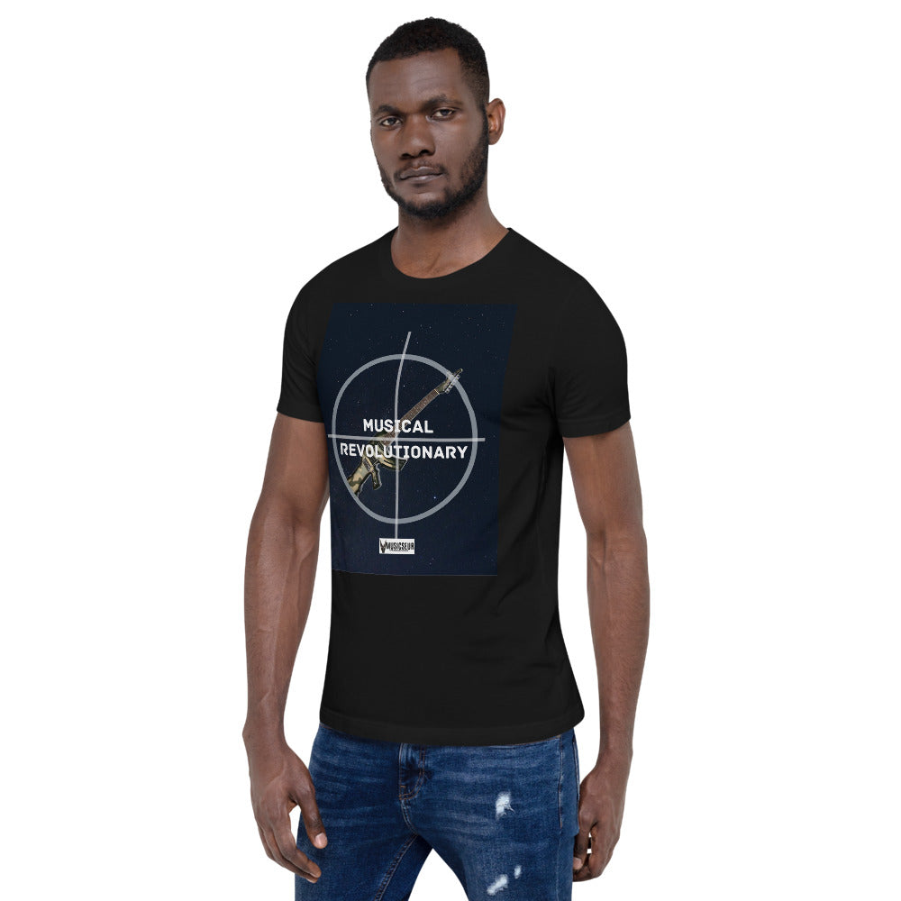 "Musicseur: True Connoisseur ""Musical Revolutionary"" Short-Sleeve Unisex T-Shirt"
