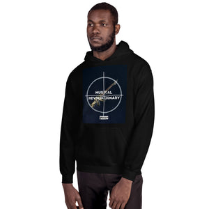 "Musicseur: True Connoisseur ""Musical Revolutionary"" Unisex Hoodie"