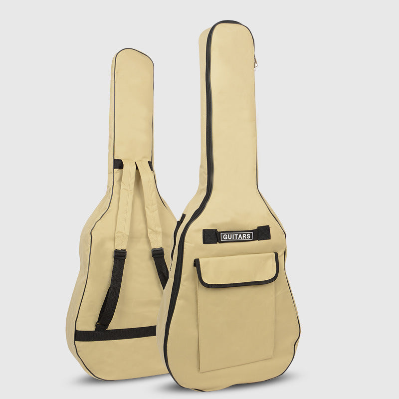40/41 Inch Oxford Fabric Acoustic Guitar Gig Bag Soft Case Double Shoulder Straps Padded Guitar Waterproof Backpack  5mm Cotton