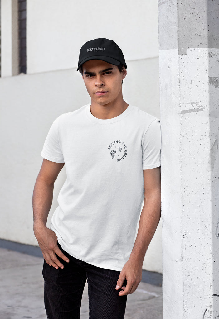 Feeling The Groove White T-shirt