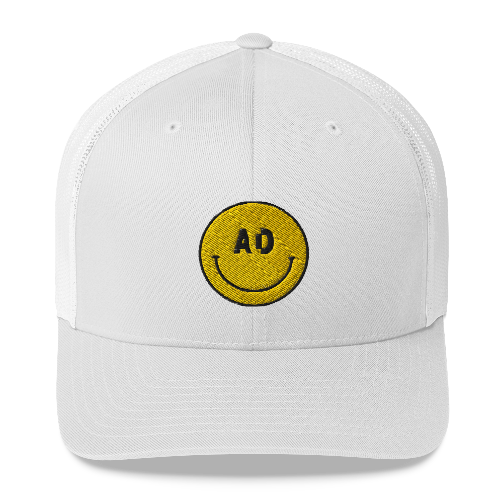 Acid House Smiley Trucker Cap