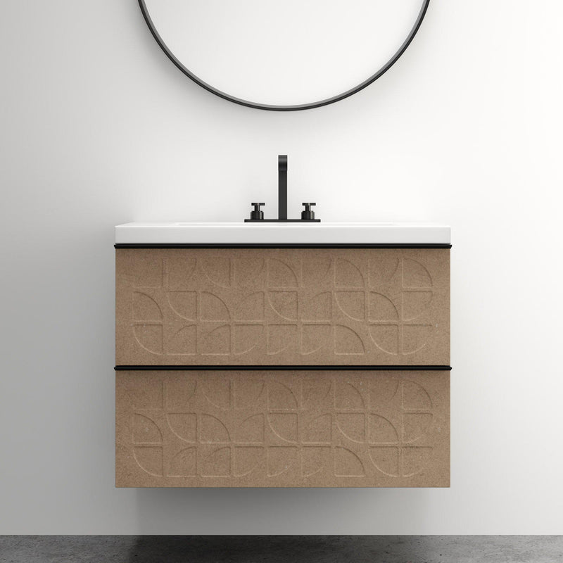 Rend 2 Drawer Fronts for Godmorgon-Customize Ikea Godmorgon Drawer Fronts -Tailored Design Co