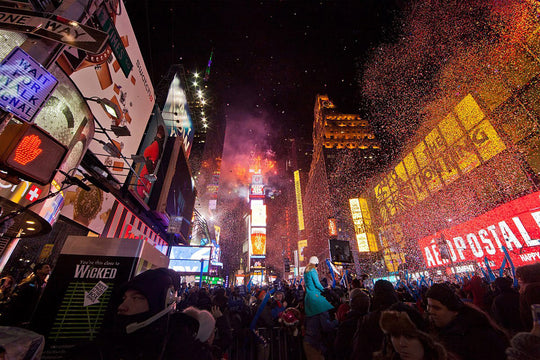 DNCE in Times Square, New Years Eve
