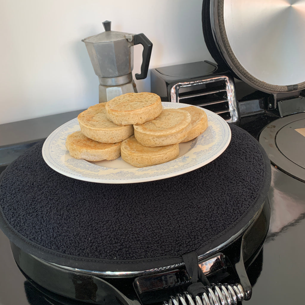 AGA cooked Sourdough Crumpets