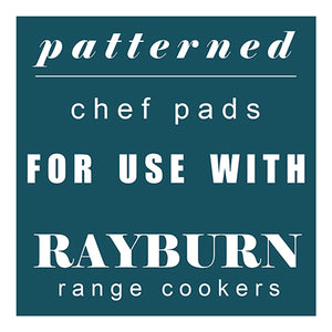 Patterned Chef Pads for Rayburn Range Cookers