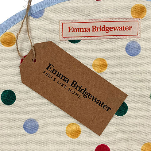 Emma Bridgewater Polka Dot Hob Cover for use with Aga Range Cookers - The Chef Pad Shop