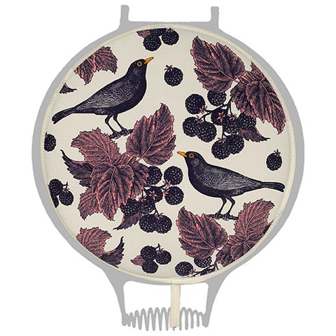 Thornback & Peel Blackbird & Bramble Hob Cover for use with Aga - The Chef Pad Shop