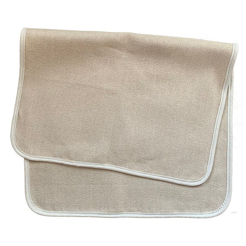 Utility Oven Cloth With Cream Binding - The Chef Pad Shop