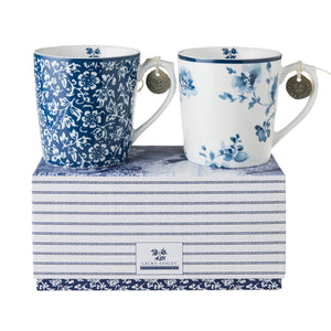 Laura Ashley Blueprint - Gift Set of 2 Mugs - Alyssa & Rose - The Chef Pad Shop