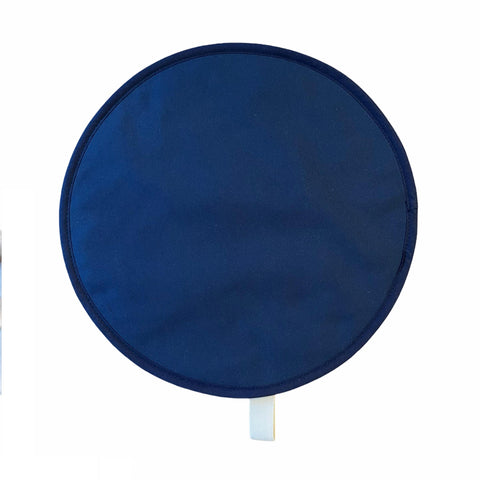 Plain Navy Chef Pad for use with Aga range cookers - The Chef Pad Shop