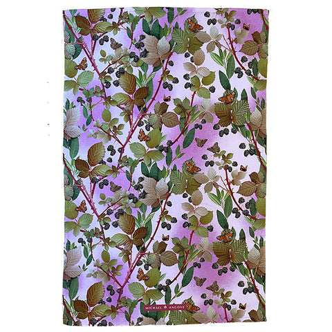 Michael Angove Blackberries & Bay Tea Towel - The Chef Pad Shop