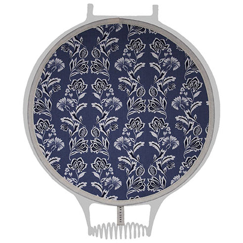 Blue Floral Hob Cover For Use With Aga Range Cookers - The Chef Pad Shop
