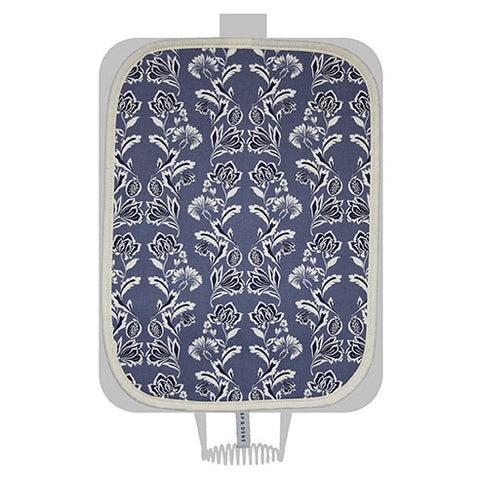 Blue Floral Hob Cover For Use With Rayburn Range Cooker - The Chef Pad Shop