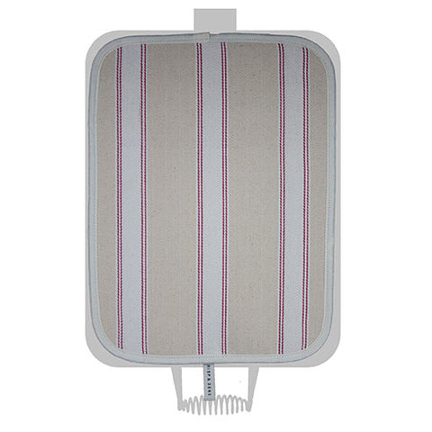Pink Utility Stripe Hob Cover For Use With Rayburn Range Cooker - The Chef Pad Shop