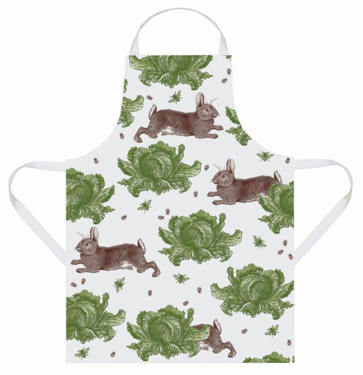 Thornback & Peel - Apron - Rabbit & Cabbage - The Chef Pad Shop