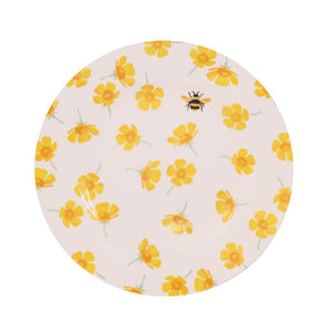 Emma Bridgewater - Buttercup & Bumblebee Melamine/Bamboo Plate - The Chef Pad Shop