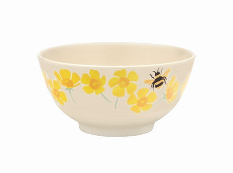 Emma Bridgewater - Buttercup and Bumblebee 2 Tone Melamine/Bamboo Bowl - The Chef Pad Shop