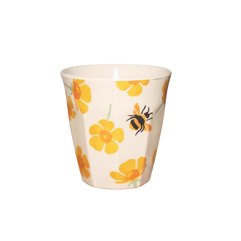 Emma Bridgewater - Buttercup & Bumblebee Melamine/Bamboo Beaker - The Chef Pad Shop