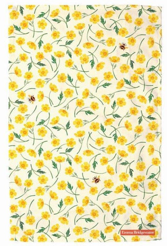 Emma Bridgewater - Buttercup Tea Towel - The Chef Pad Shop