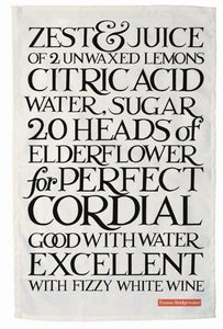 Emma Bridgewater - Perfect Cordial Tea Towel - The Chef Pad Shop