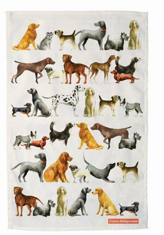 Emma Bridgewater - Dogs Tea Towel - The Chef Pad Shop