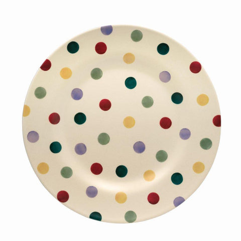 Emma Bridgewater - Polka Dot 2 Tone Melamine/Bamboo Plate - The Chef Pad Shop