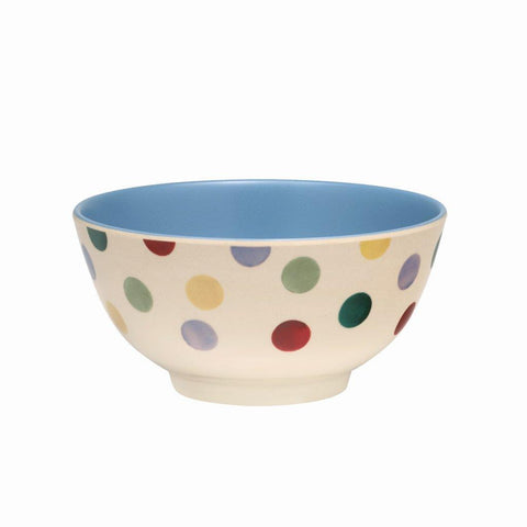 Emma Bridgewater - Polka Dot 2 Tone Melamine/Bamboo Bowl - The Chef Pad Shop