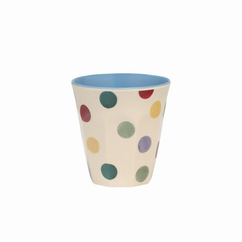 Emma Bridgewater - Polka Dot 2 Tone Melamine/Bamboo Beaker - The Chef Pad Shop