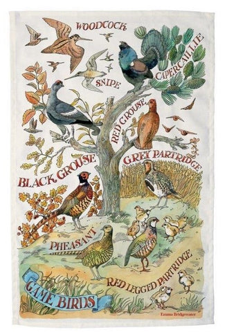 Emma Bridgewater Game Bird Tea Towel - The Chef Pad Shop