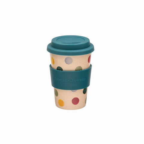 Emma Bridgewater Polka Dot Rice Husk Travel Mug - The Chef Pad Shop